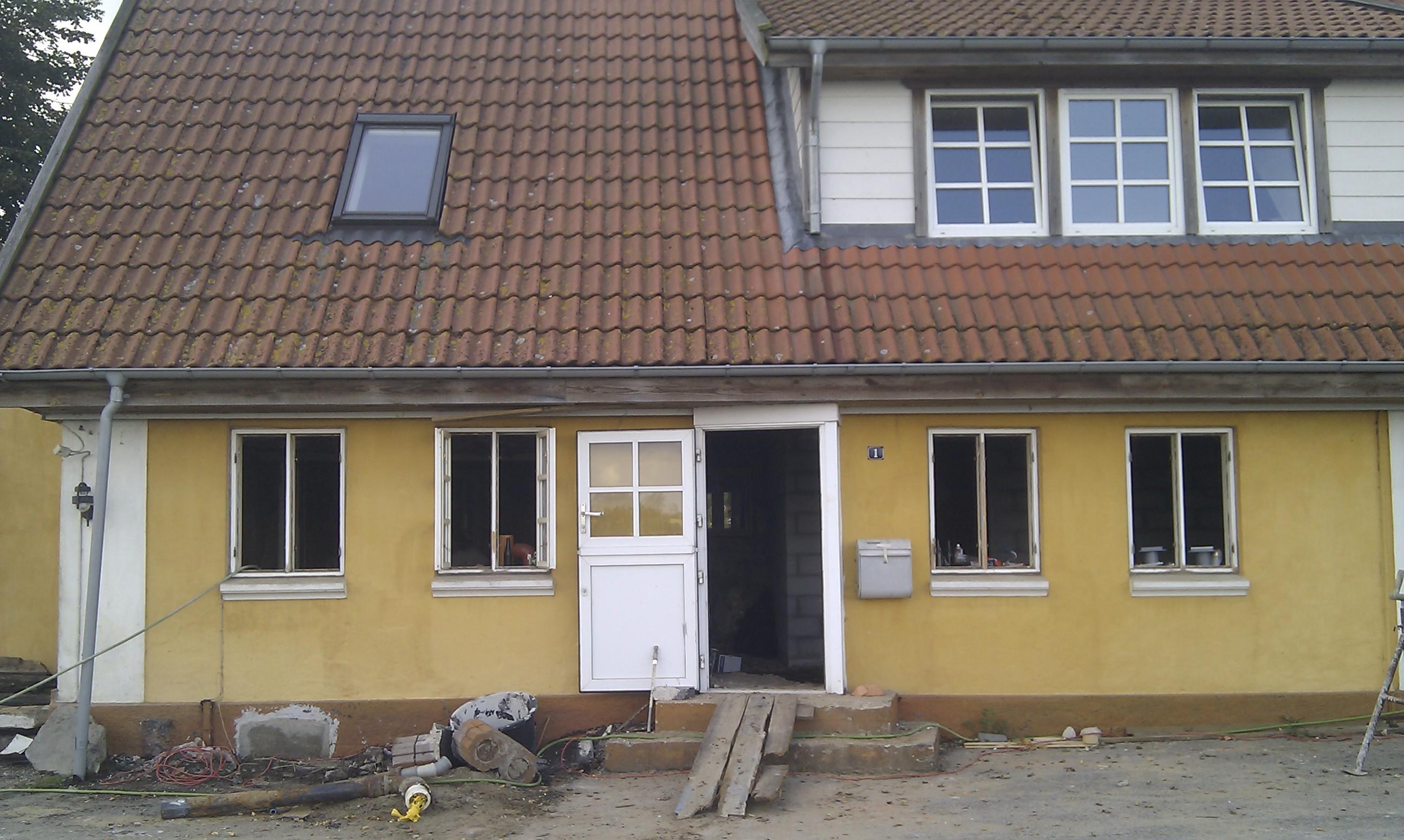 Huset har nu set bedre ud, men det kommer det til igen