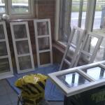 Conny har malet vinduer :)
