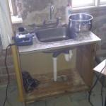 Improviseret køkken