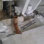 Placering af luftrør i forhold til masseovnen