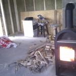 Fuldt blus på brændeovn