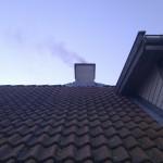 Sug i skorstenen