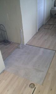 Udskåret gulv