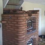 Spand i masseovn brændkammer