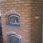 Masseovnens bageovn og brændkammer